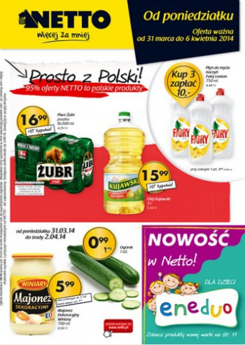Netto od 31.03 do 6.04