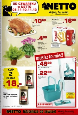 Netto od 08.11 do 10.11