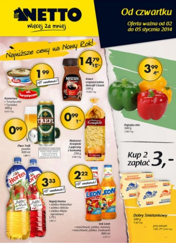 Netto od 2.01 do 5.01