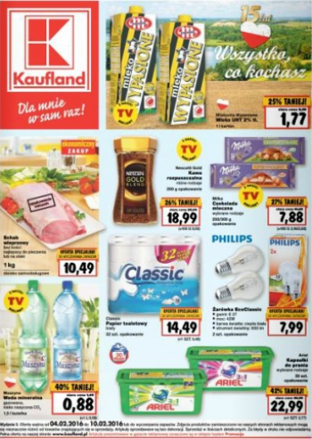 Kaufland od 4.02 do 10.02