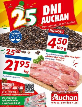 Auchan od 21.10 do 31.10