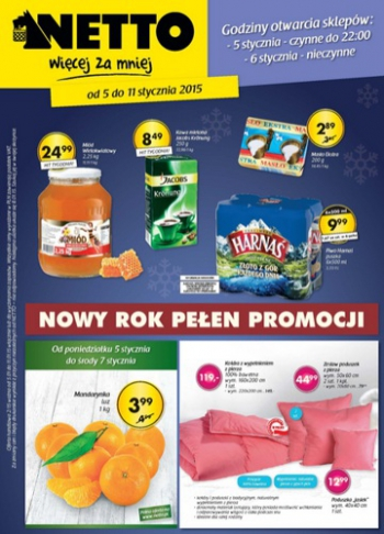 Netto od 5.01 do 11.01