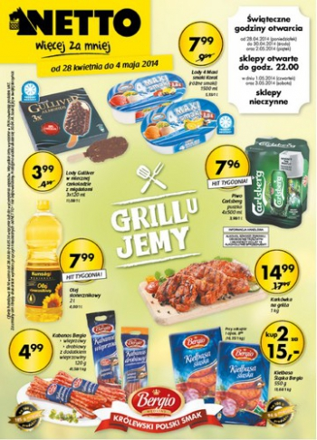 Netto od 28.04 do 4.05