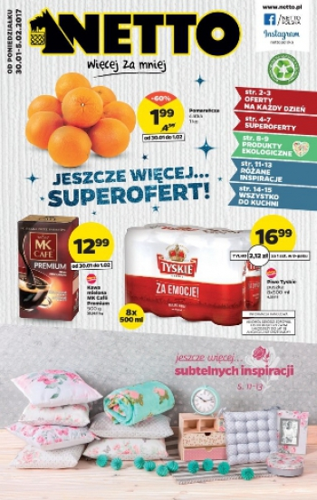 Netto od 30.01 do 5.02