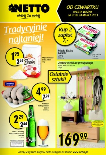 Netto od 21.03 do 24.03