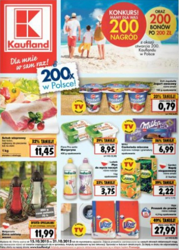 Kaufland od 15.10 do 21.10