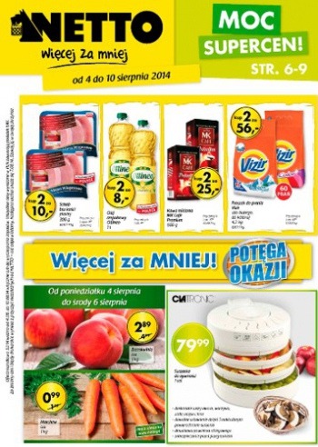Netto od 4.08 do 10.08