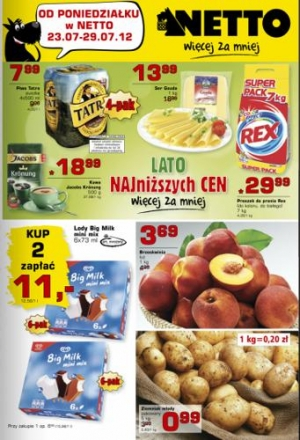 Netto od 23.07 do 29.07