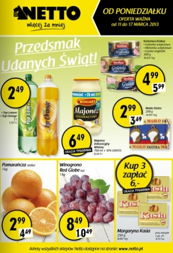 Netto od 11.03 do 17.03
