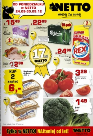 Netto od 24.09 do 30.09