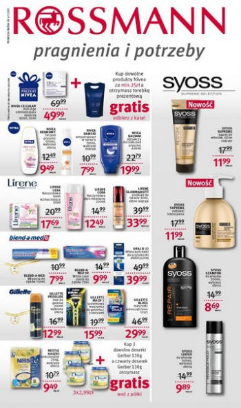 Rossmann od 4.11 do 14.11