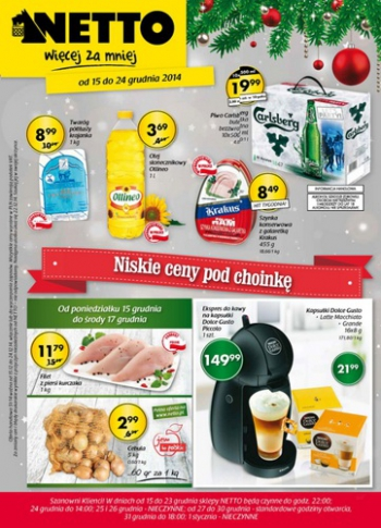 Netto od 15.12 do 24.12