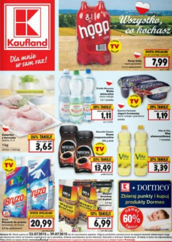Kaufland od 23.07 do 29.07