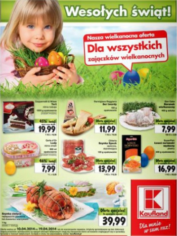 Kaufland od 10.04 do 19.04