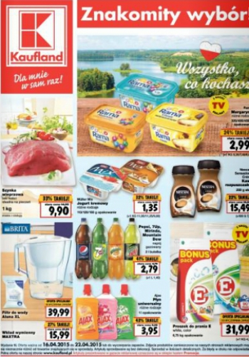 Kaufland od 16.04 do 22.04