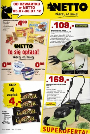 Netto od 05.07 do 08.07