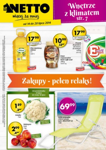 Netto od 14.07 do 20.07