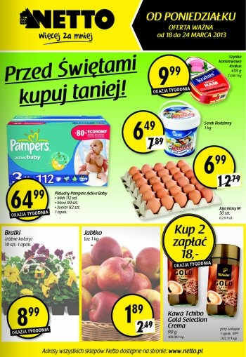 Netto od 18.03 do 24.03