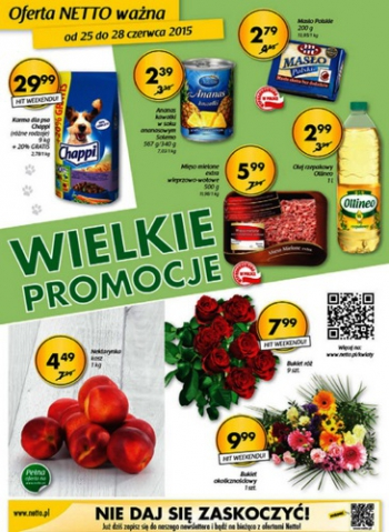 Netto od 25.06 do 28.06