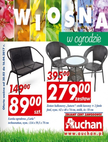 Auchan od 30.03 do 16.04