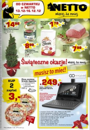 Netto od 13.12 do 16.12