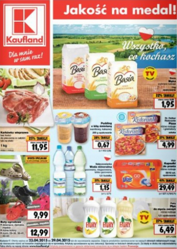 Kaufland od 23.04 do 29.04