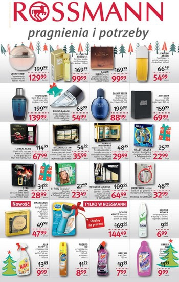 Rossmann od 13.12 do 24.12