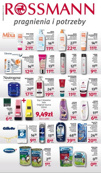 Rossmann od 11.10 do 24.10