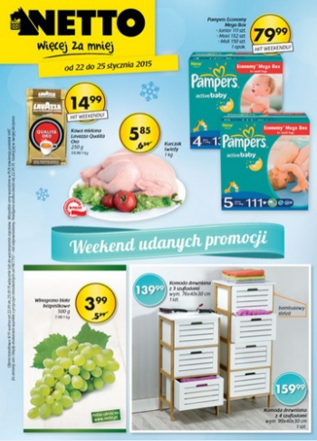 Netto od 22.01 do 25.01