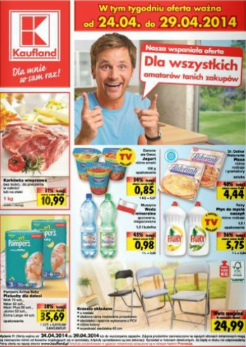 Kaufland od 24.04 do 29.04