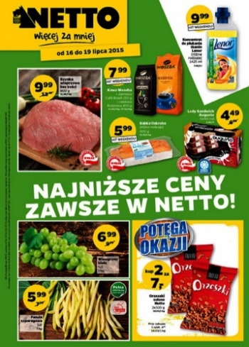 Netto od 16.07 do 19.07