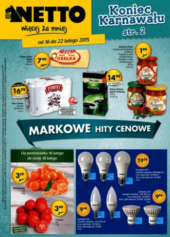 Netto od 16.02 do 22.02