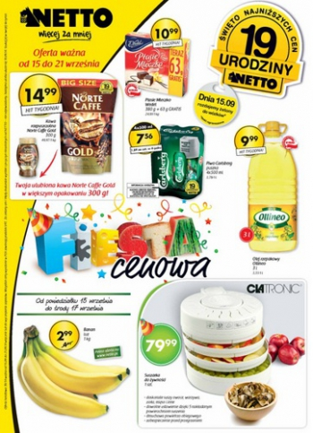 Netto od 15.09 do 21.09