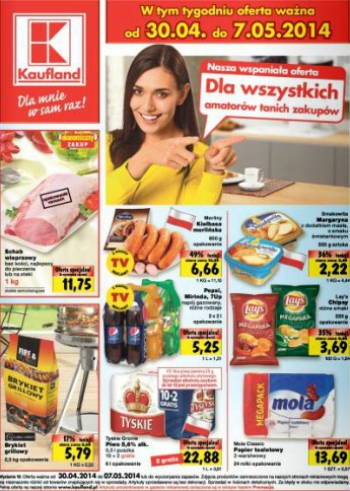 Kaufland od 30.04 do 7.05