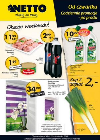 Netto od 10.10 do 13.10