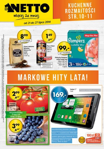 Netto od 21.07 do 27.07