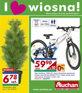 Auchan od 19.03 do 30.03