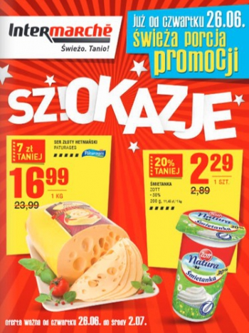 Intermarche od 26.06 do 2.07