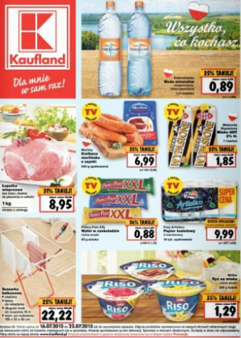 Kaufland od 16.07 do 22.07