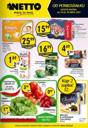 Netto od 20.05 do 26.05