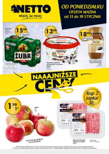 Netto od 13.01 do 19.01