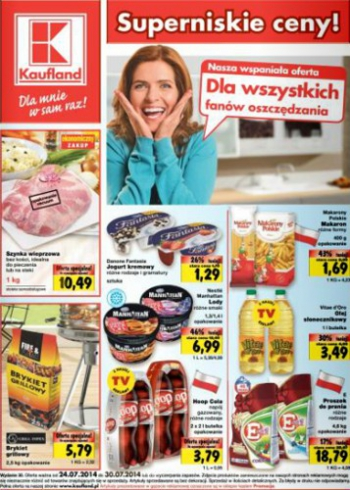 Kaufland od 24.07 do 30.07