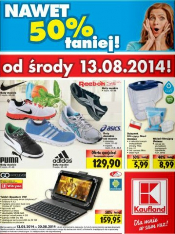 Kaufland od 13.08 do 20.08