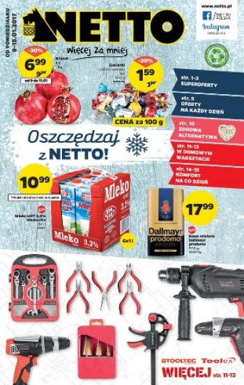 Netto od 9.01 do 15.01