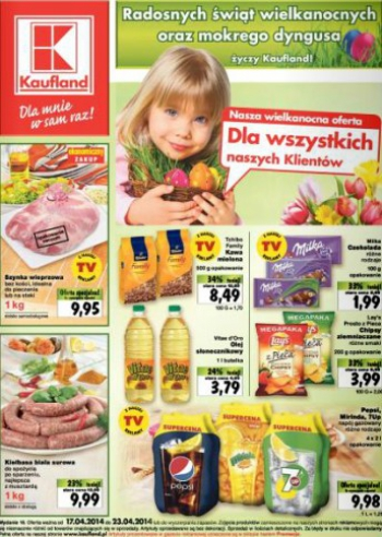 Kaufland od 17.04 do 23.04