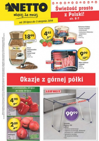 Netto od 28.07 do 3.08