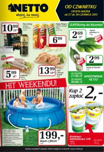 Netto od 27.06 do 30.06