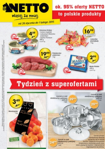 Netto od 26.01 do 1.02