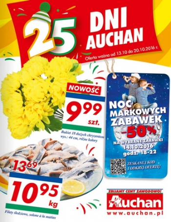 Auchan od 13.10 do 20.10