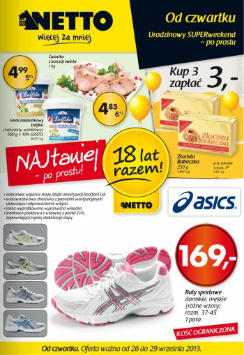 Netto od 26.09 do 29.09